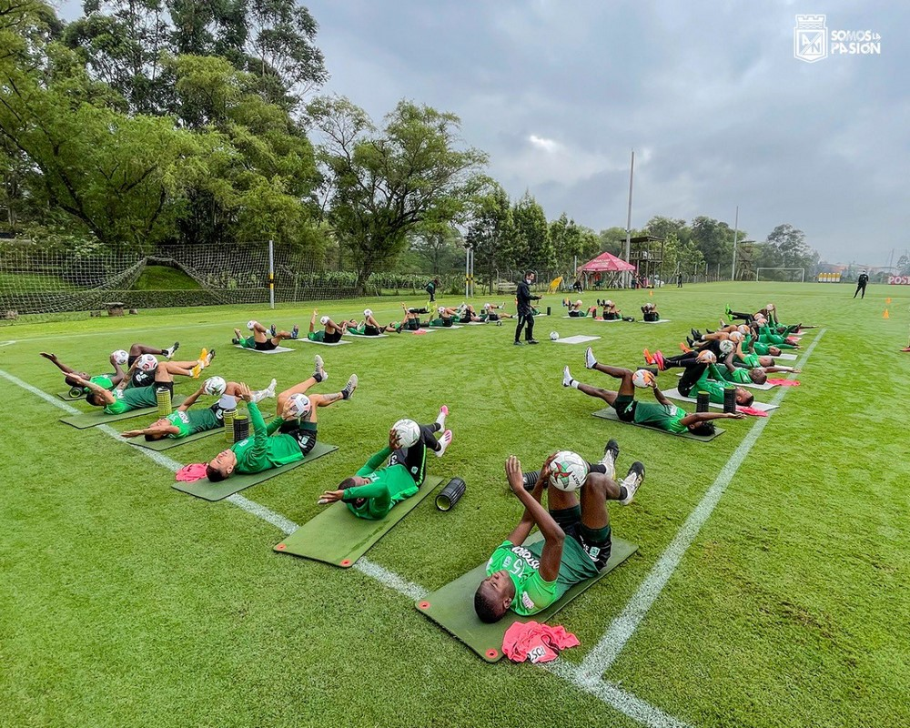 Entrenamiento Atletico Nacional 1 1