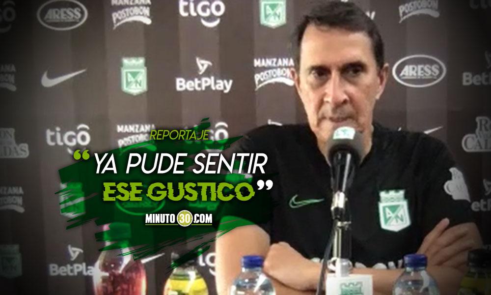 Es una alegria inmensa poder competir en Libertadores Alexandre Guimaraes