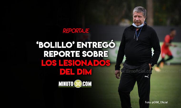 Hernan Dario Gomez lamenta las lesiones pero aclara que no solamente aquejan a Medellin 1