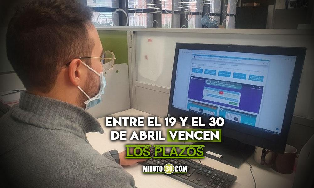 Declaración de industria y comercio virtual en Medellín