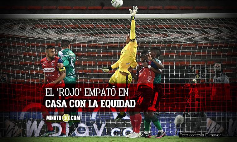 Independiente Medellin extendio su racha de empates