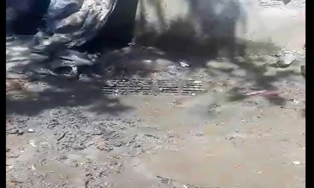 [Video] Denuncia ciudadana: Habitantes de Itagüí se quejan del mal estado de una alcantarilla