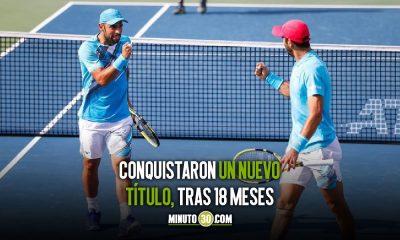 Juan Sebastian Cabal y Robert Farah campeones del ATP 500 de Dubai