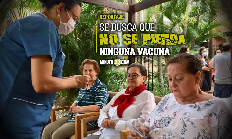 Lo que tiene que hacer Medellin cada vez que una persona falte a su cita para aplicarse la vacuna del covid 19