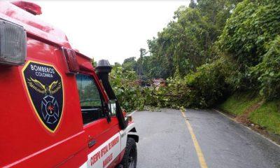 Estragos en Manizales por lluvias