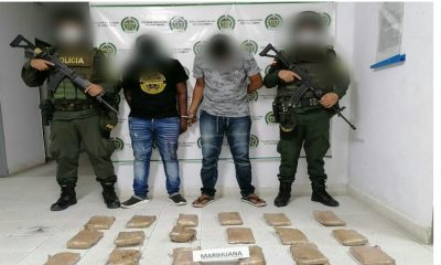 ¿Todo eso? Los pillaron con 6 millones de pesos en marihuana por una carretera de Urabá
