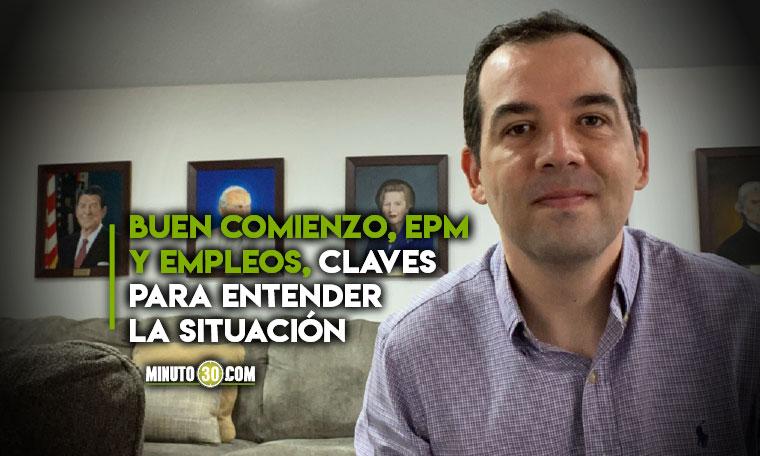 Medellin no esta en peligro Director del CAEP explica la buena gestion de Daniel Quintero