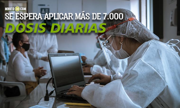 Metrosalud dispondra de casi 50 puntos para vacunar contra el covid 19 en Medellin