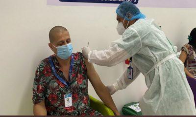 ¿Se coló? Polémica por vacunación contra el Covid a Periodista en Casanare