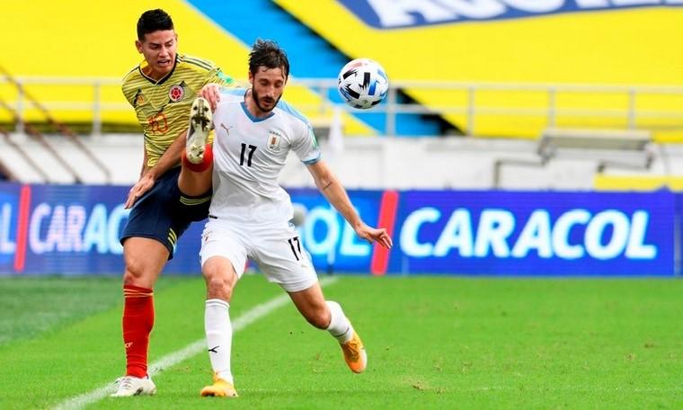 Seleccion Colombia vs Uruguay en la Eliminatorias 4 Copiar
