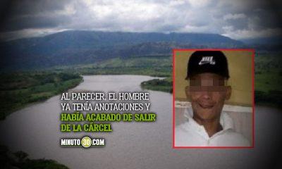 Hombre se tiró al río Magdalena para evadir a la Policía y no volvió a salir
