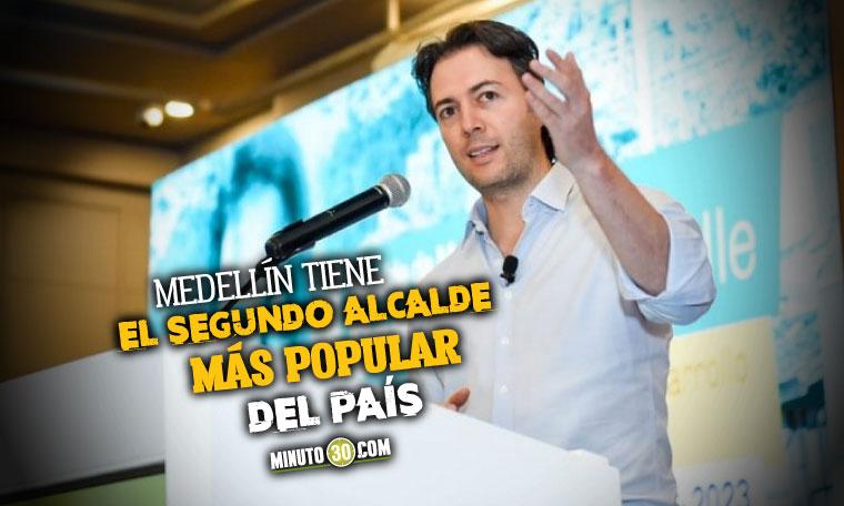 Aprobación de Daniel Quintero en Medellín - febrero- marzo de 2021