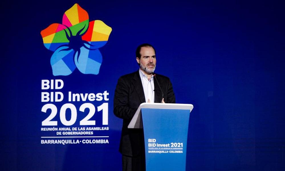 El BID aprobará 1.250 millones de dólares en préstamos a Colombia este año