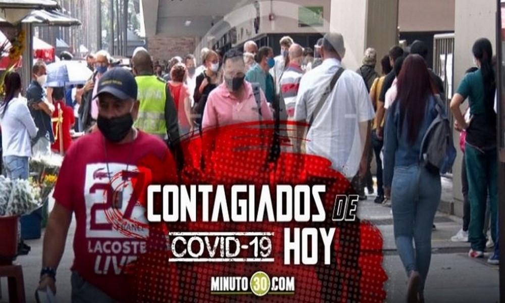 ¡Tremendo repunte! Hoy se registraron 1.083 casos nuevos de Covid en Antioquia