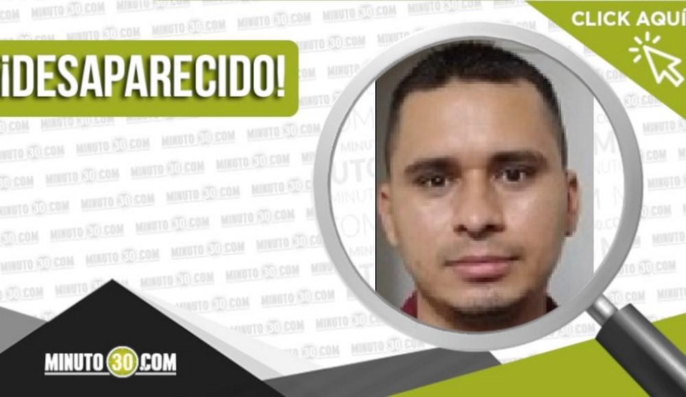 Arley Mauricio Mesa Vélez desaparecido