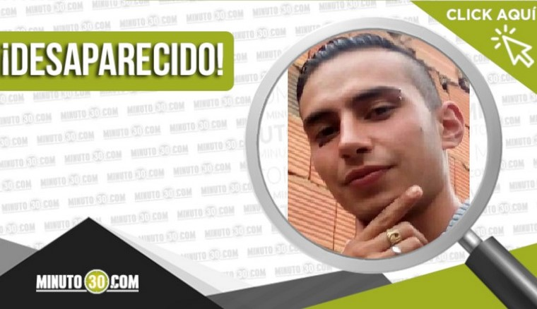 Eric Javier Carreño Moya desaparecido