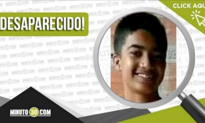 Brahian Esteban Flórez Gamarra desaparecido