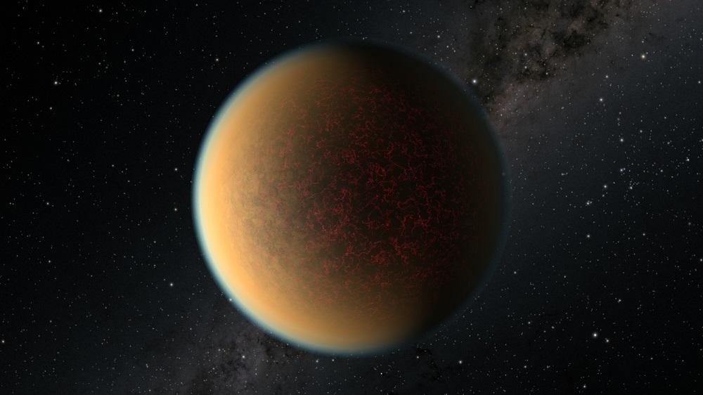 Un exoplaneta rocoso crea una nueva atmósfera gracias a la actividad volcánica