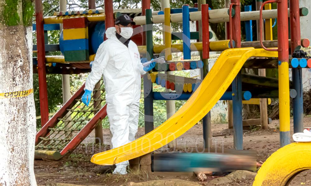homicidio en parque infantil de copacabana 17 03 2020 10
