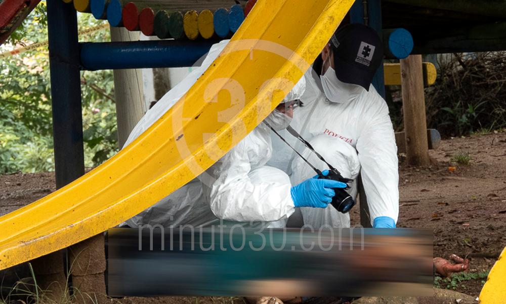 homicidio en parque infantil de copacabana 17 03 2020 11