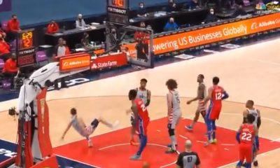 La impresionante lesión de Joel Embiid y el susto que pasaron los Philadelphia 76ers