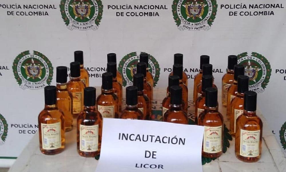 Pilas con el 'traguito' que se toma en Medellín, incautaron licor de dudosa procedencia en varios barrios
