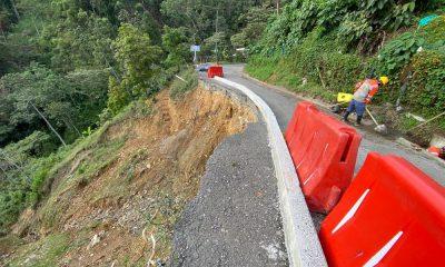 La Alcaldía de Medellín realiza seguimiento a ocho puntos afectados por la temporada de lluvias en la ciudad