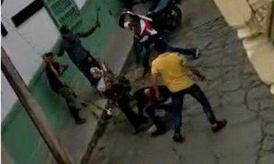 Video: ¡Momentos de pánico! A machete pelearon en Abejorral