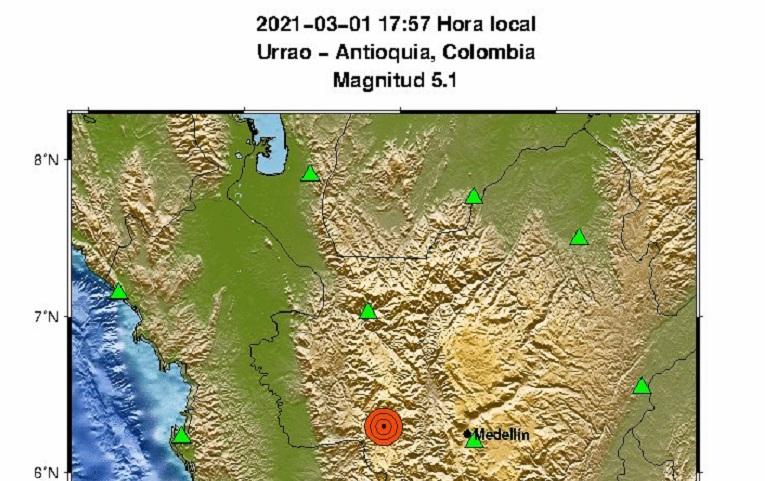 Metro de Medellín reporta normalidad tras potente temblor de 5.1