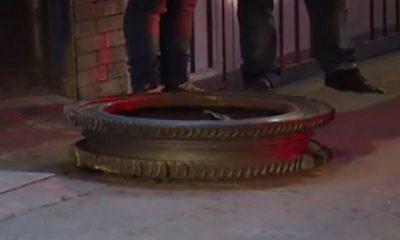 Objeto metálico casi mata a domiciliario en Bogotá