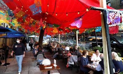 Un estudio vincula la apertura de los restaurantes en EE.UU. al repunte de casos de covid