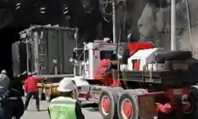 Sexto transformador de potencia al Proyecto Ituango