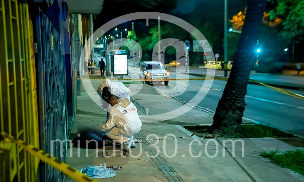 Fotos: Encontraron un muerto en El Chagualo, al parecer era un habitante de calle