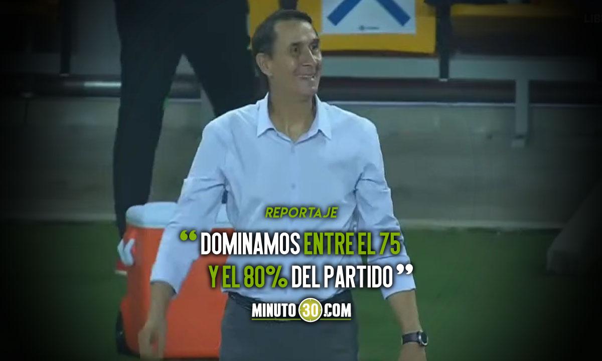 Alexandre Guimaraes analizo con jubilo victoria de Nacional en Libertadores