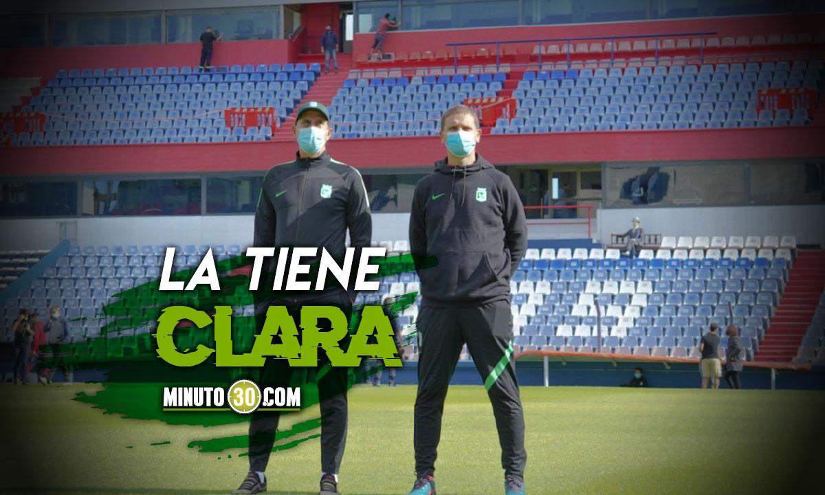 Alexandre Guimaraes y sus cuentas para avanzar en Copa Libertadores