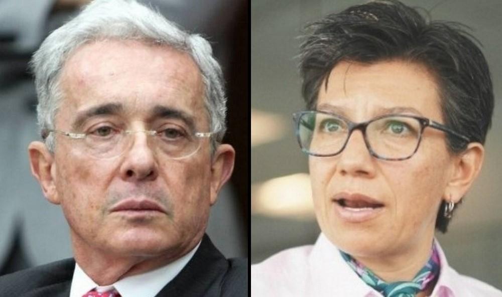 Uribe le sugiere a Claudia López entregarle la alcaldía a Duque