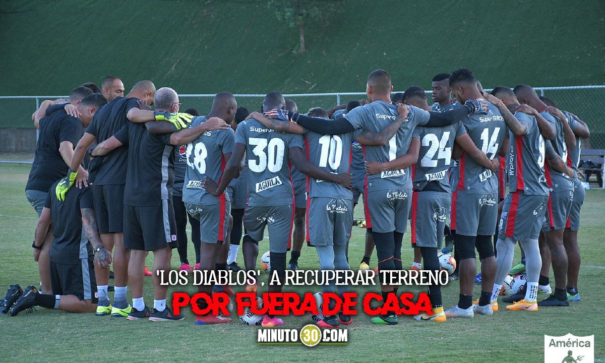 America de Cali a enderezar el camino en la Copa Libertadores