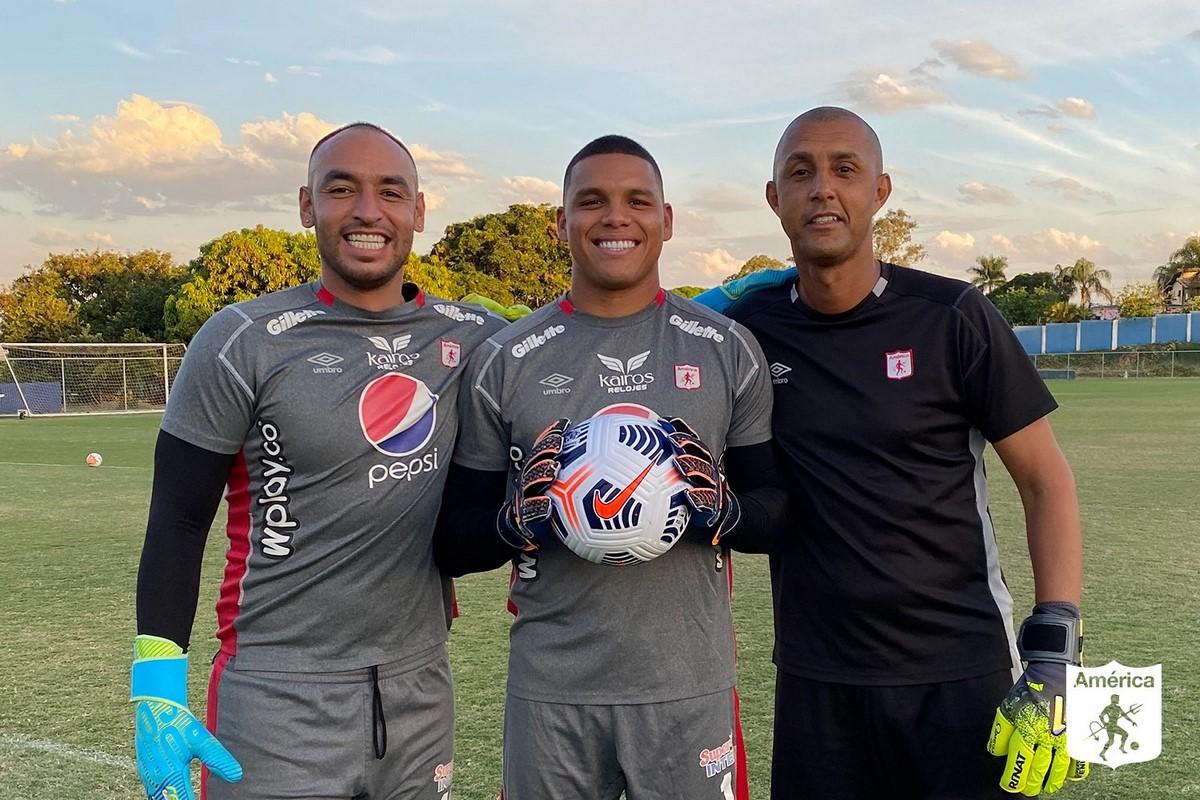 America de Cali entreno en Brasil 4