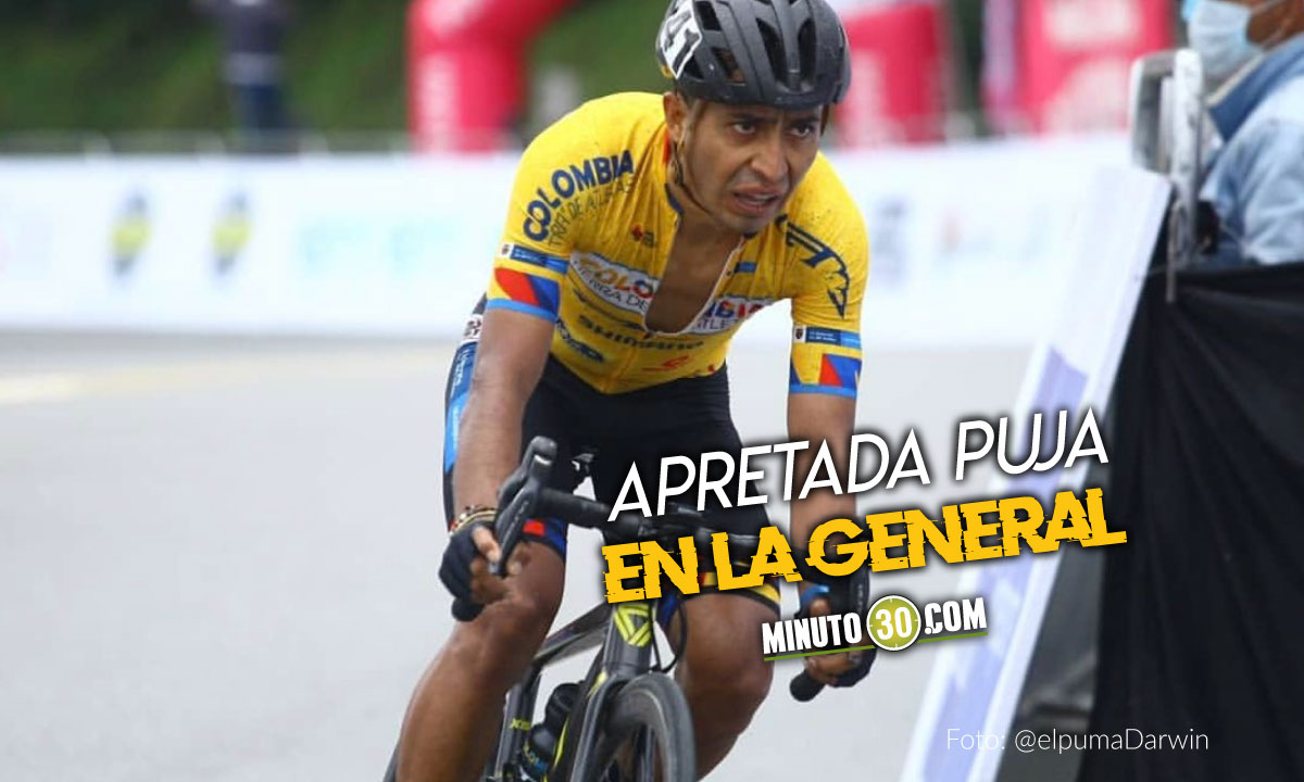 Atapuma gano la octava etapa de la Vuelta a Colombia