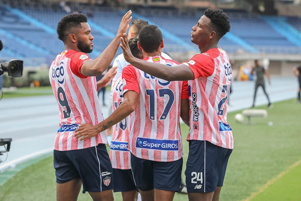 Atletico Junior vs Santa Fe cuartos ida 1 Copiar