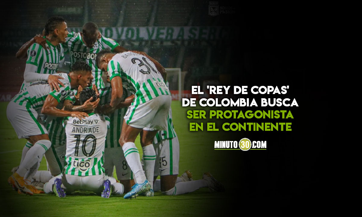 Atletico Nacional a demostrar para que esta en la fase de grupos de Copa Libertadores