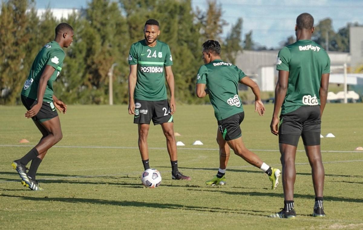 Atletico Nacional entrenamiento Uruguay 1