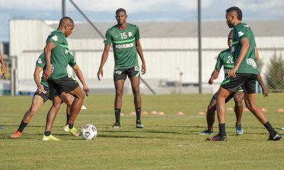 Atletico Nacional entrenamiento Uruguay 4