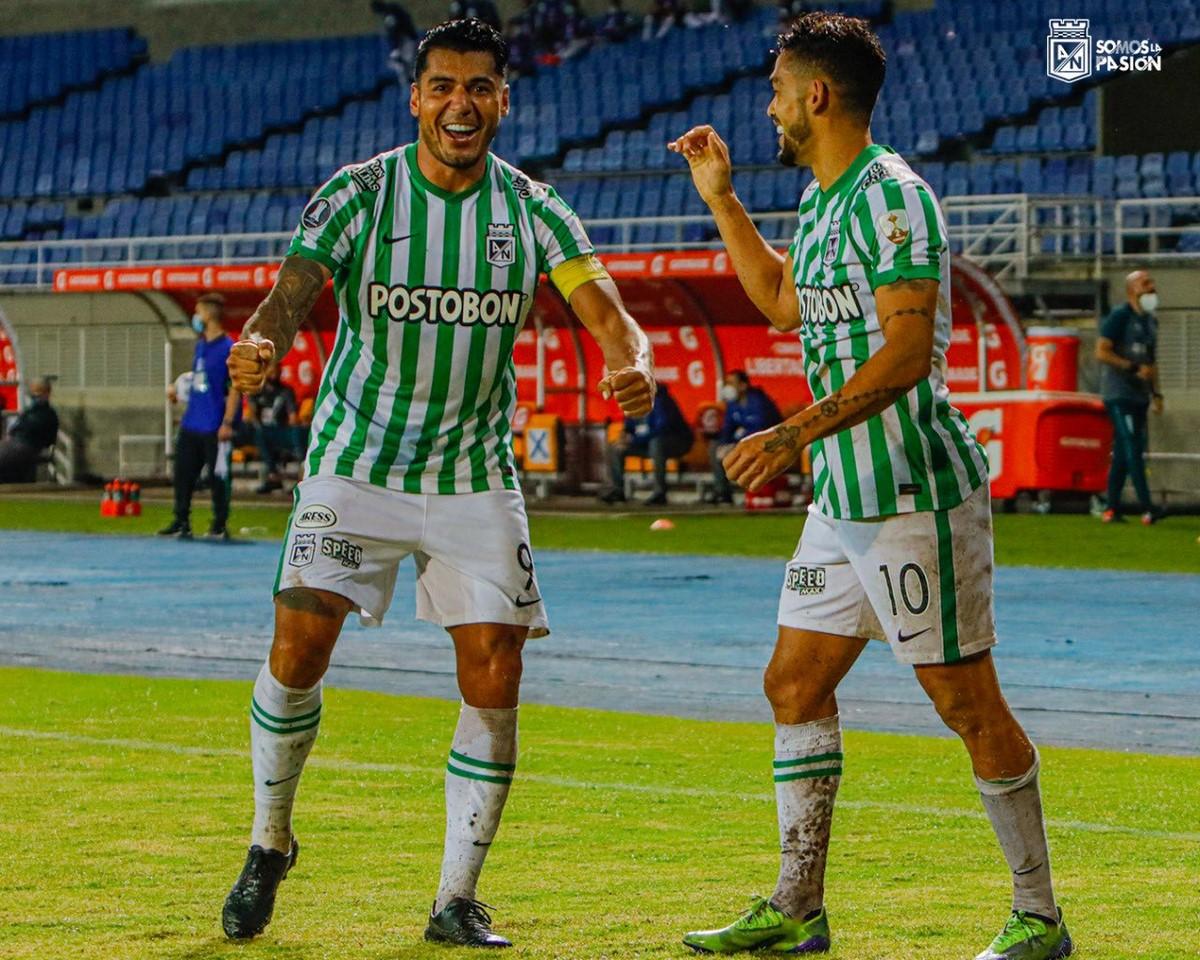 Atletico Nacional vs Universidad Catolica en Copa Libertadores 2