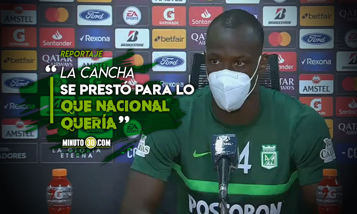 Baldomero Perlaza destaco la adaptacion de Nacional al estadio Pereira