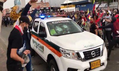 Bogota patrulla policia