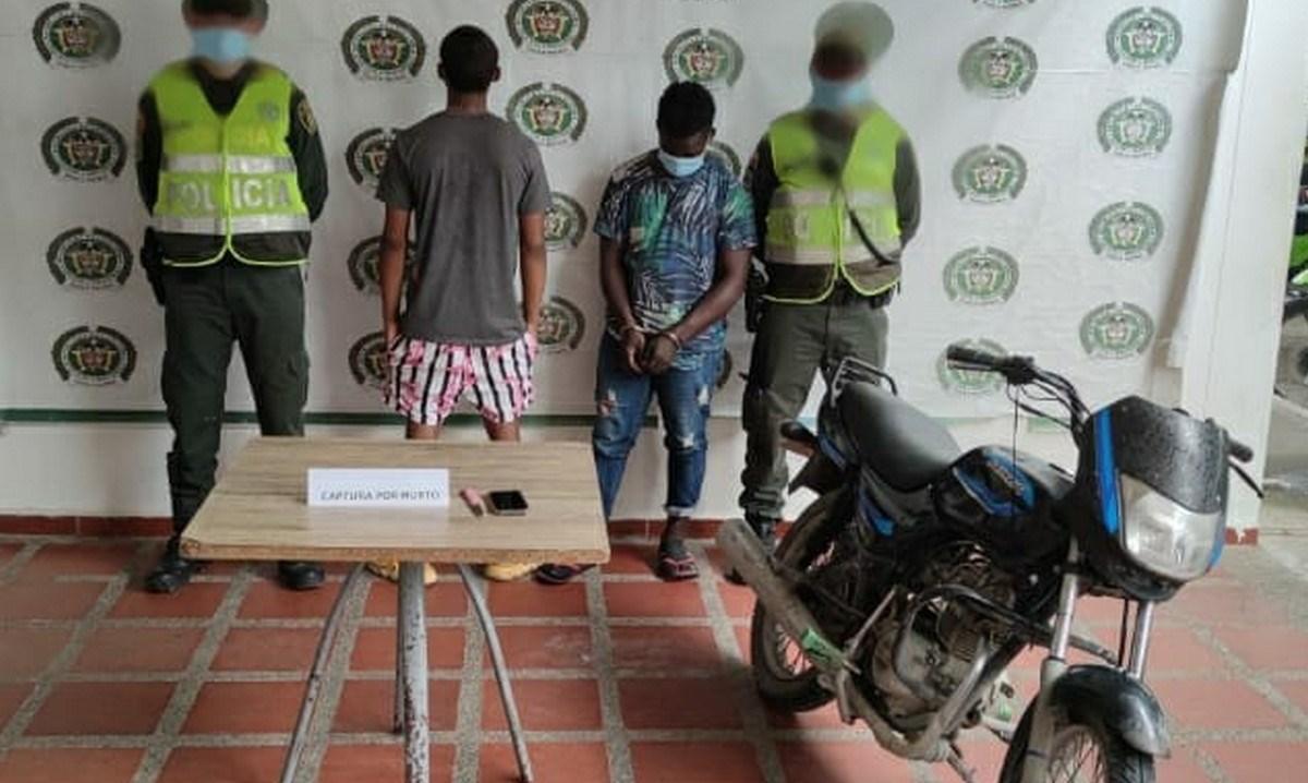 CAPTURADOS EN FLAGRANCIA AUTORES MATERIALES DEL HOMICIDIO COMETIDO CONTRA PATRULLERO DE LA POLICIA EN QUIBDO