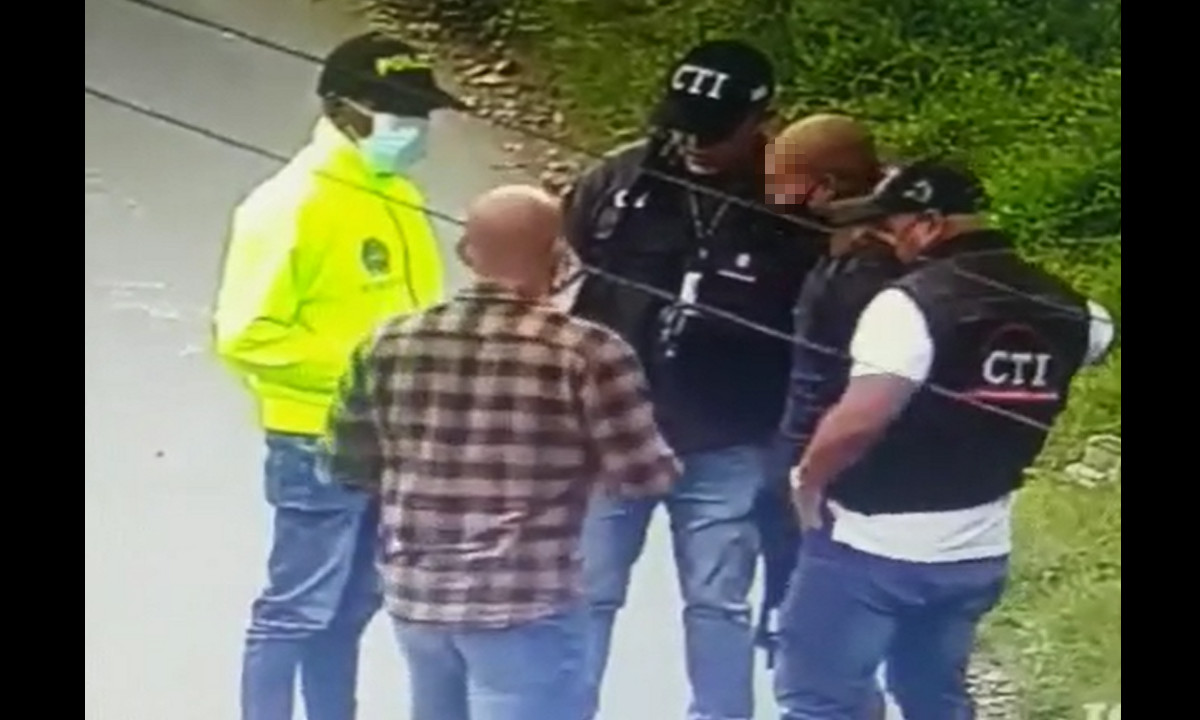 Video: Así fue el momento de la captura del presunto asesino del joven universitario de Rionegro