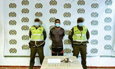 Hombre capturado en Quibdó con revolver
