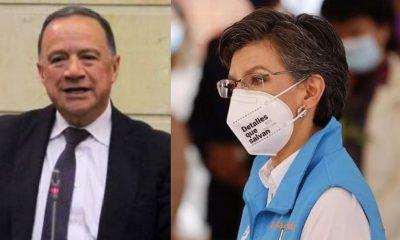 Claudia López se pronunció por muerte de senador Enríquez